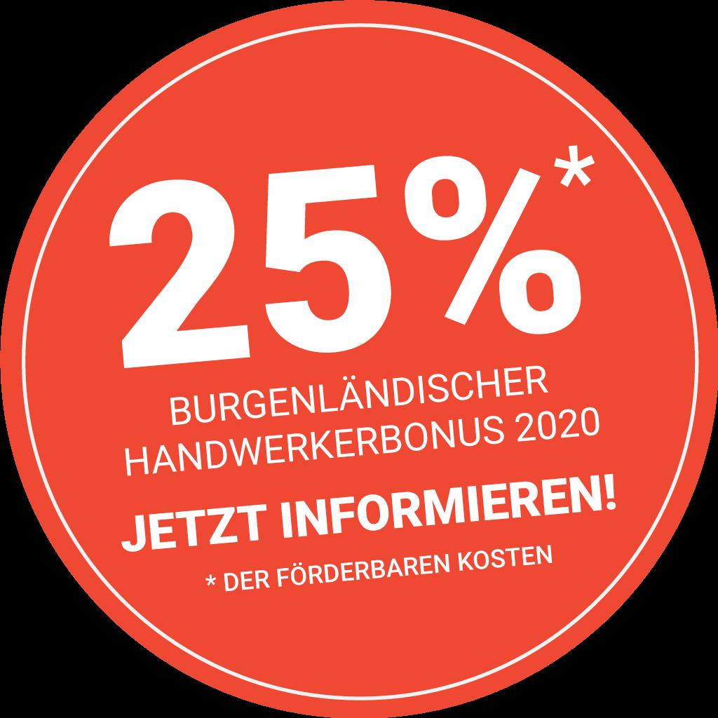 Farbsinn - Malerei Zinkl - Burgenländischer Handwerkerbonus 2021